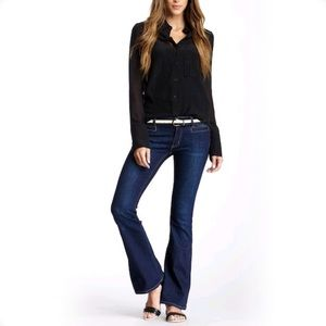 MiH Jeans The Casablanca Mid Rise Flare